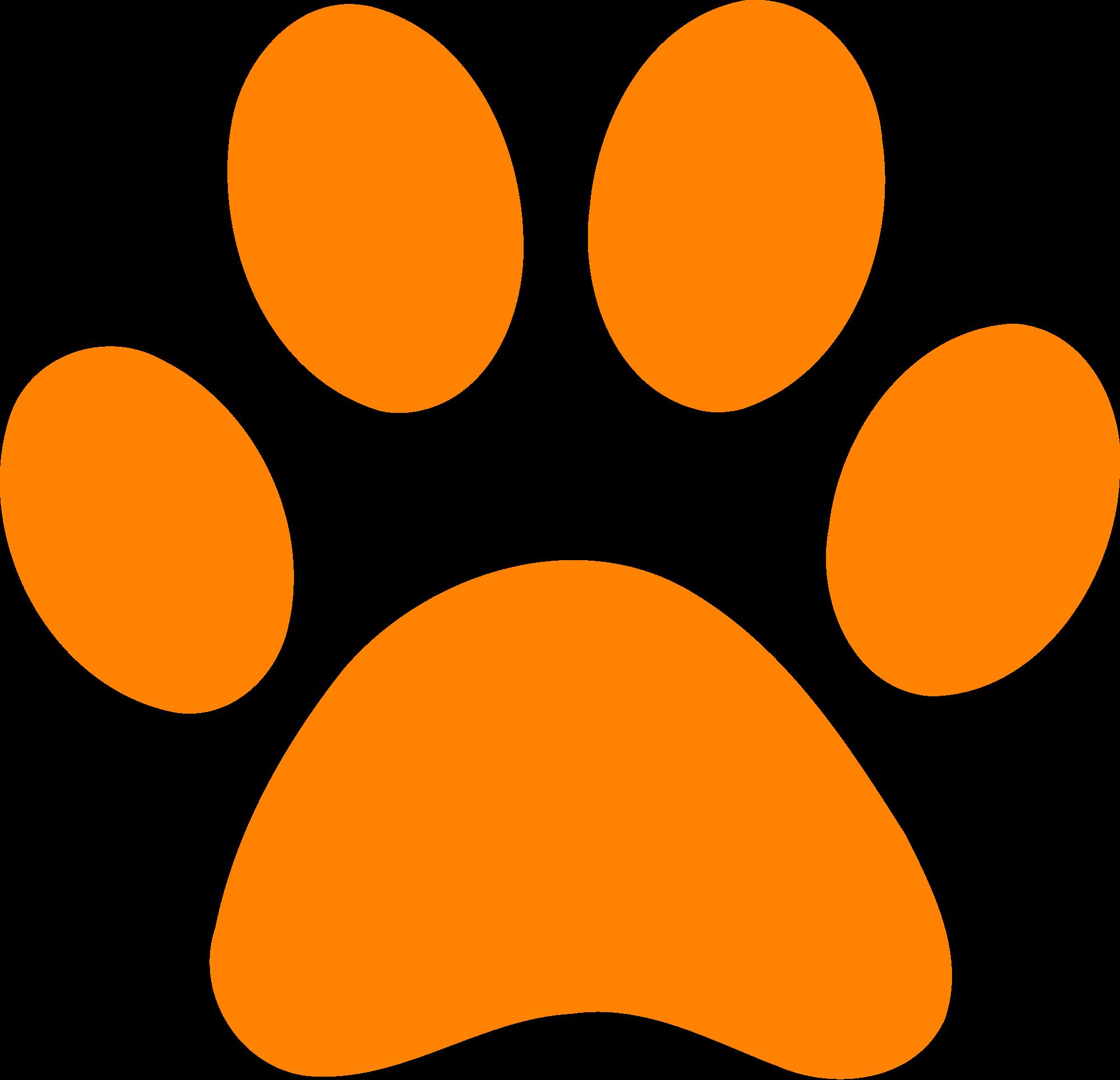 2000x1928 Leopard Paw Print Clip Art