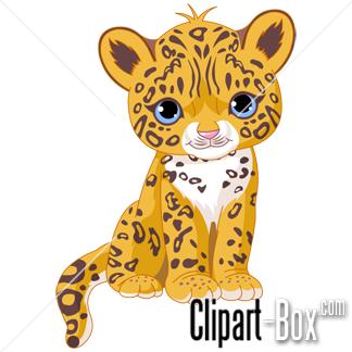 324x324 Cute Baby Jaguar Clip Art. Animal Clip Art From The Clipart Box