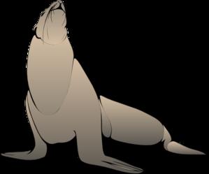 299x249 Seal Clip Art