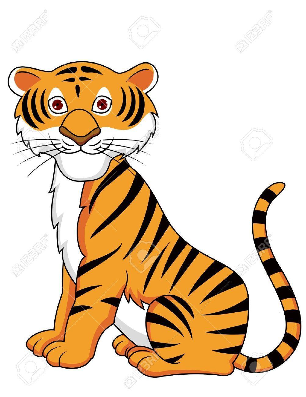 1003x1300 Tiger Clip Art
