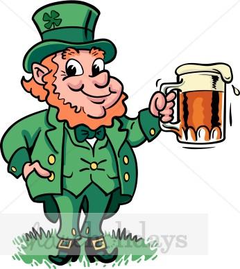 346x388 Leprechaun Beer Clipart St Patrick's Day Clipart