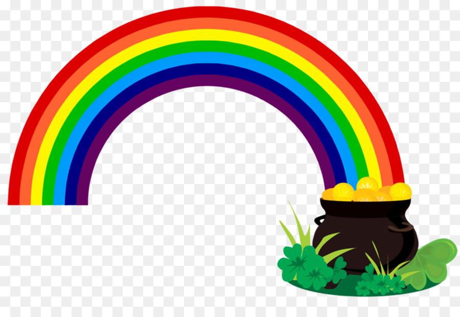 900x620 Pot Of Gold Rainbow Leprechaun Clip Art