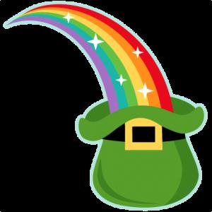 300x300 Rainbow Into Leprechaun Hat Miss Kate Cuttables