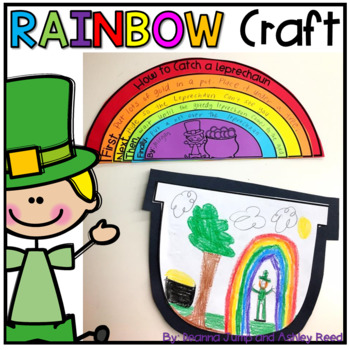 350x350 How To Catch A Leprechaun Rainbow Writing Craft By Deanna Jump Tpt