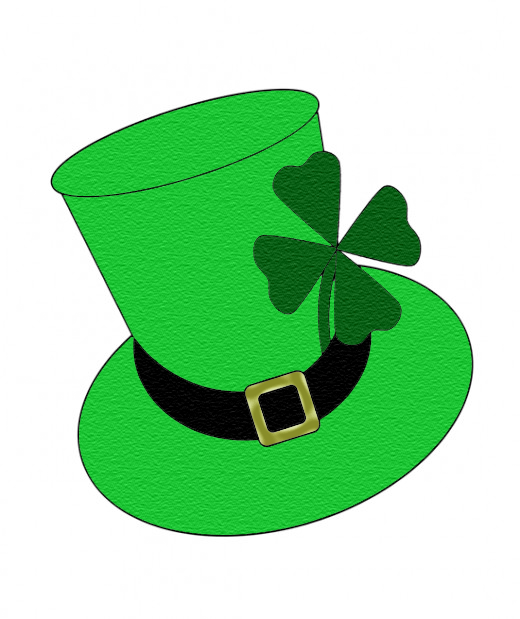 520x619 Free St. Patrick's Day Shamrocks Clip Art Images Hubpages