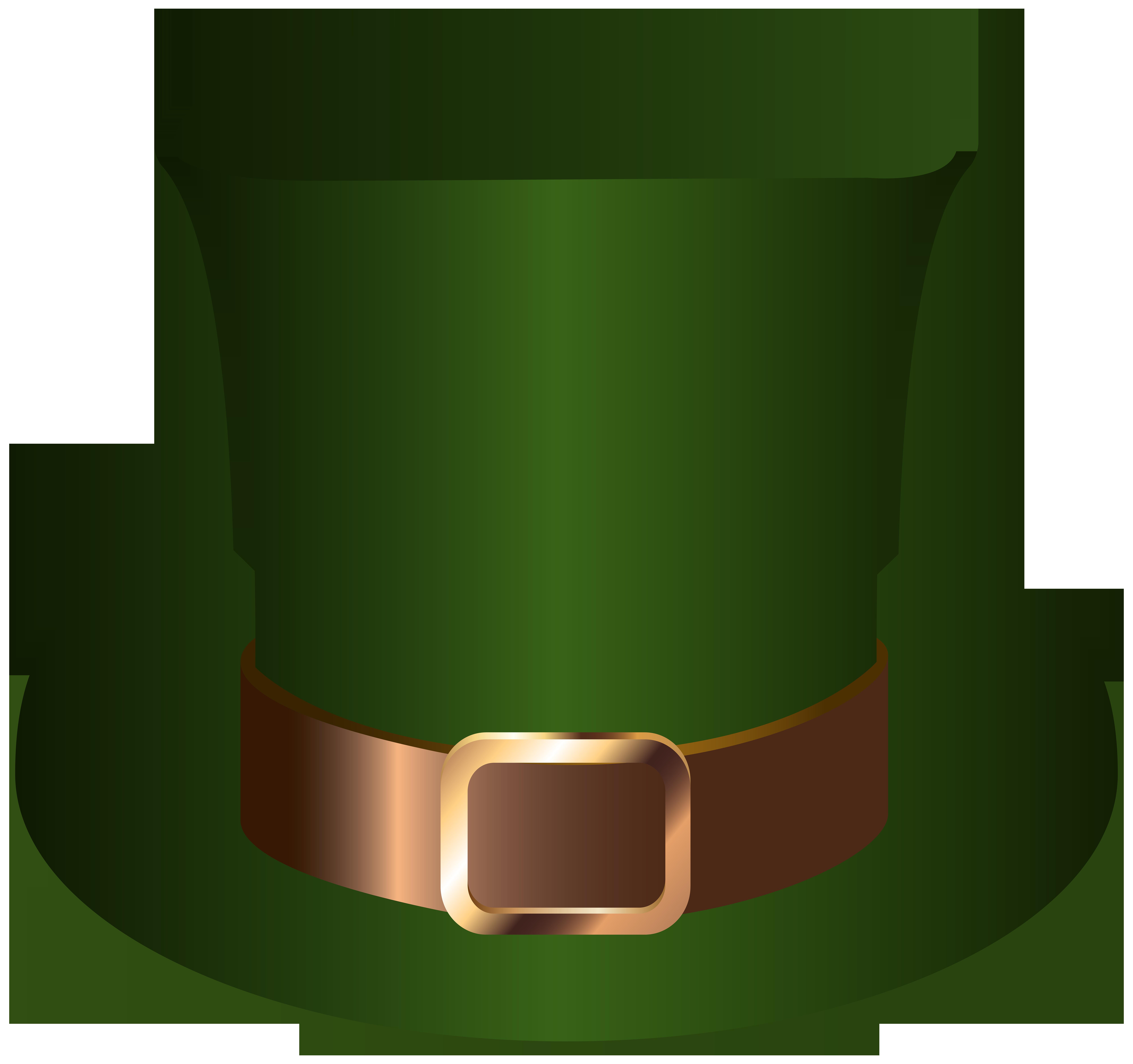 8000x7513 Saint Patrick's Leprechaun Hat Clip Art Imageu200b Gallery