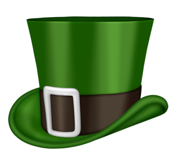 600x530 Patrick's Day Png St Patrick Day Green Leprechaun Hat Png