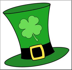 304x295 Clip Art Leprechaun Hat 2 Color 2 I Abcteach
