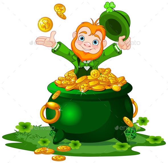 590x573 Mainstream Picture Of A Pot Gold Black Png Clip Art Image Gallery