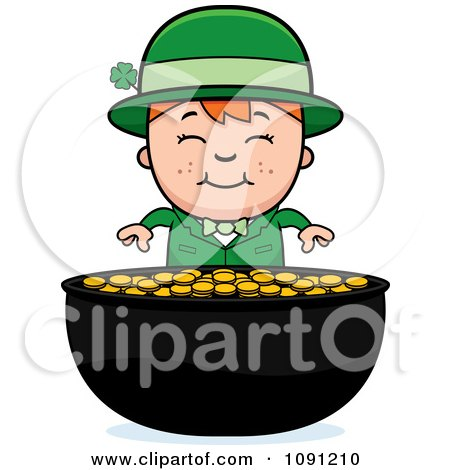 450x470 Royalty Free (Rf) Pot Of Gold Clipart, Illustrations, Vector