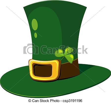 450x418 Irish Top Hat Vector Clipart Illustrations. 427 Irish Top Hat Clip