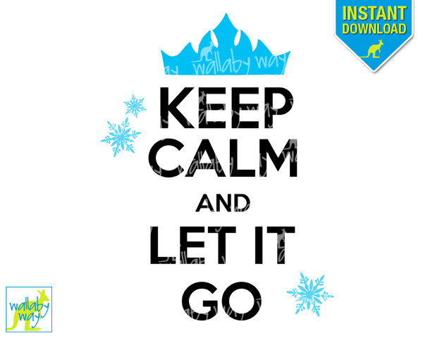 600x480 Frozen Let It Go Clipart