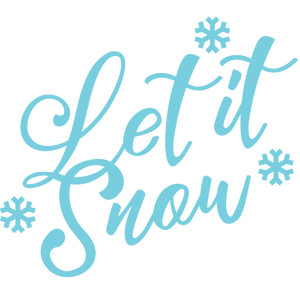 300x300 Let It Snow Clipart