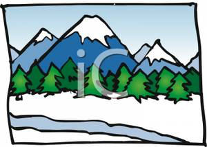 300x214 Peacefulspiration Ideas Mountain Range Clip Art With Trees