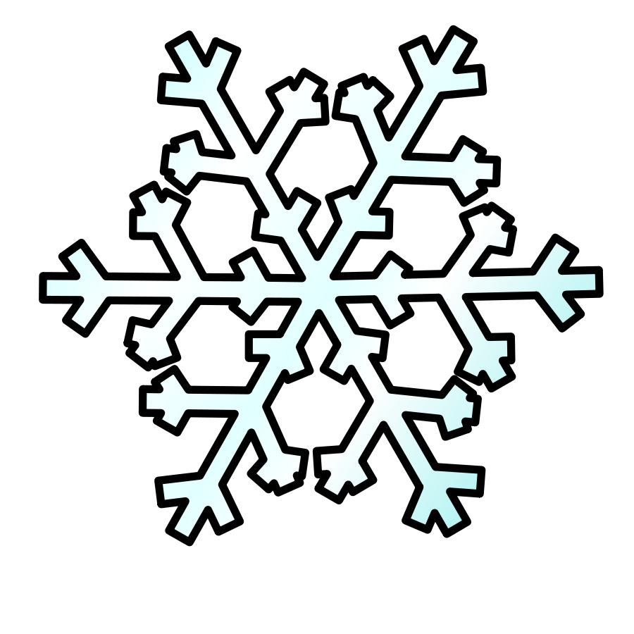 900x900 Snow Vector Clipart