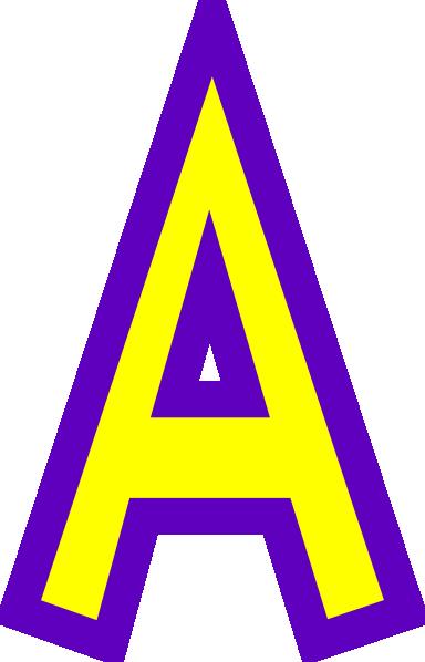 384x598 Letter A Clip Art