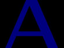 220x165 Letter A Clipart Letter A Clip Art