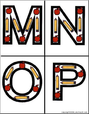 304x392 Alphabet Letter Patterns Page 1 Abcteach