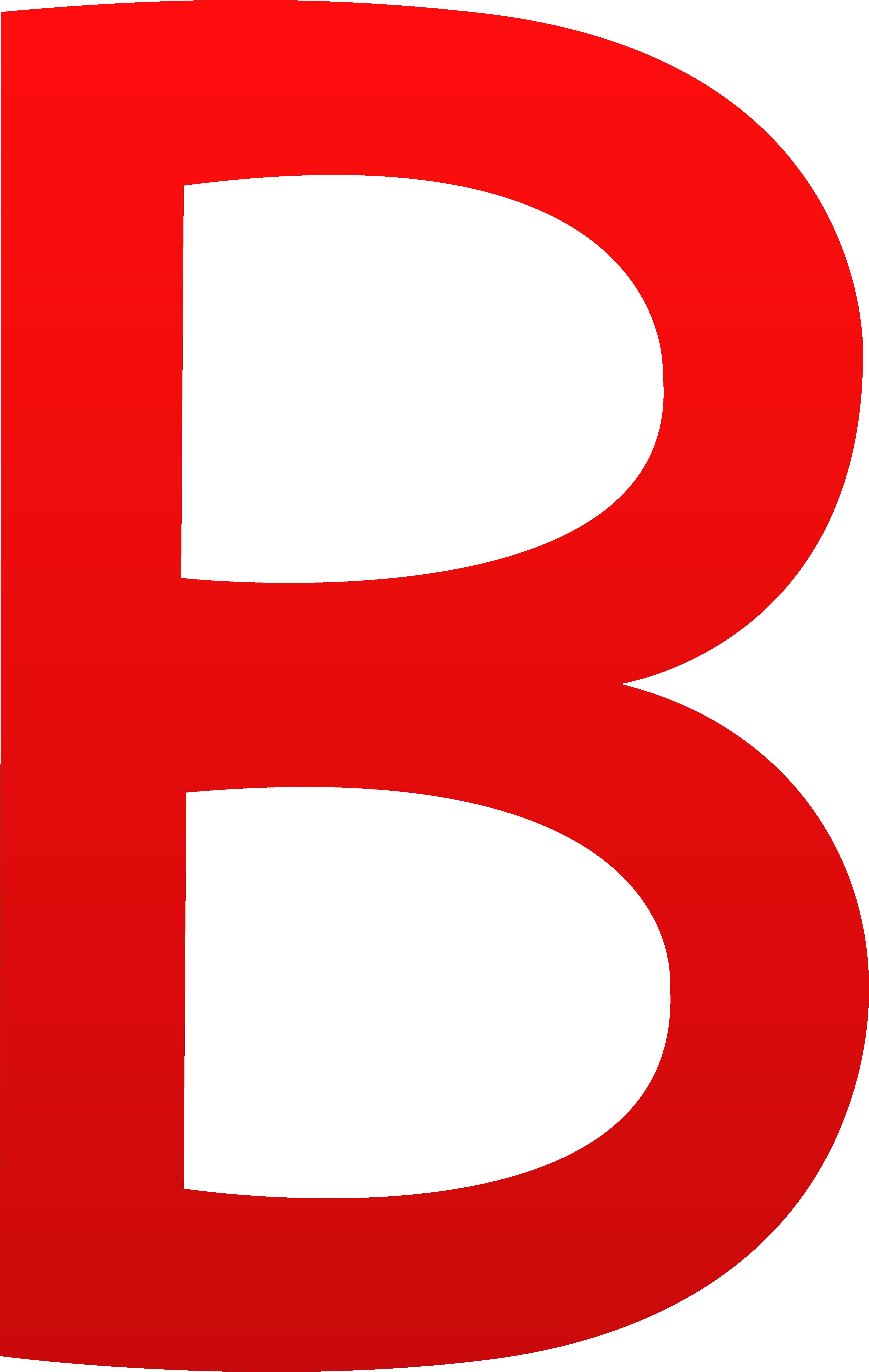 4325x6828 Letter B Clip Art