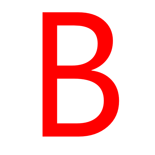 512x512 Letter B Png Images Free Download