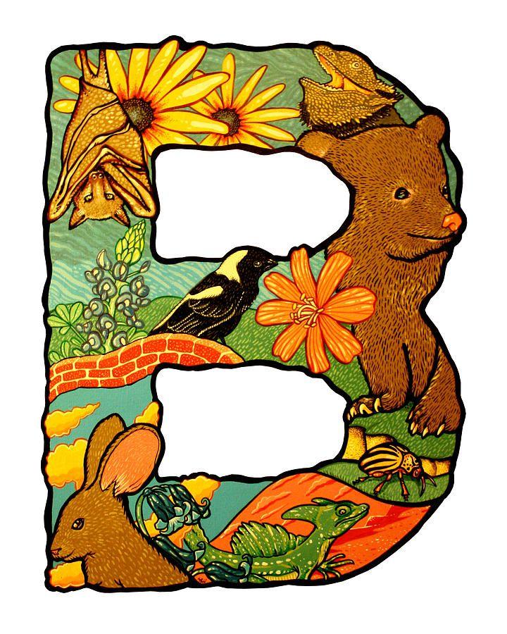 720x900 Letter B Art