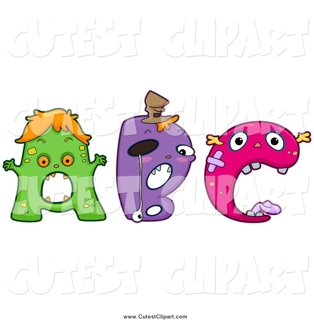 1024x1044 Monster Clipart Letter