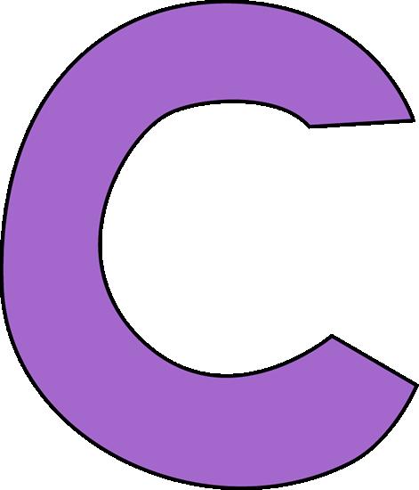 471x550 Purple Letter C Clip Art Image Clipart Panda
