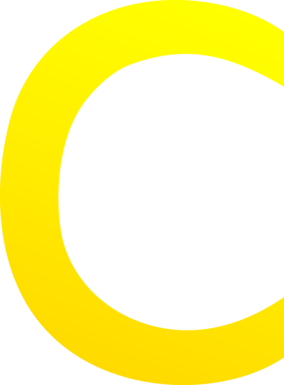 406x550 The Letter C