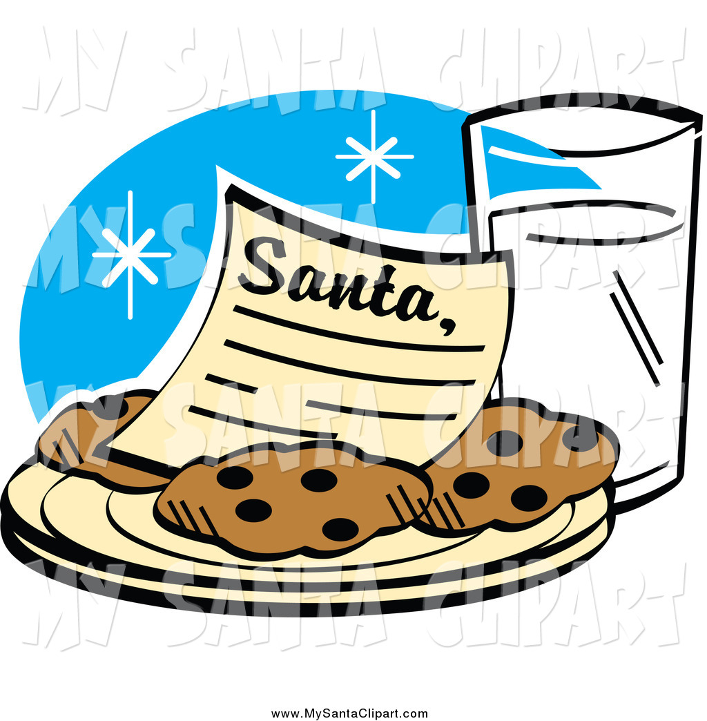 1024x1044 Christmas Clip Art Of A Dear Santa Letter On A Plate Of Cookies