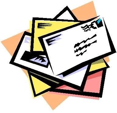 384x370 Mail Letter Clip Art