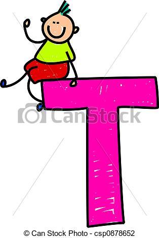 314x470 Clipart Letter T Letter T Boy Clip Art Csp0878652