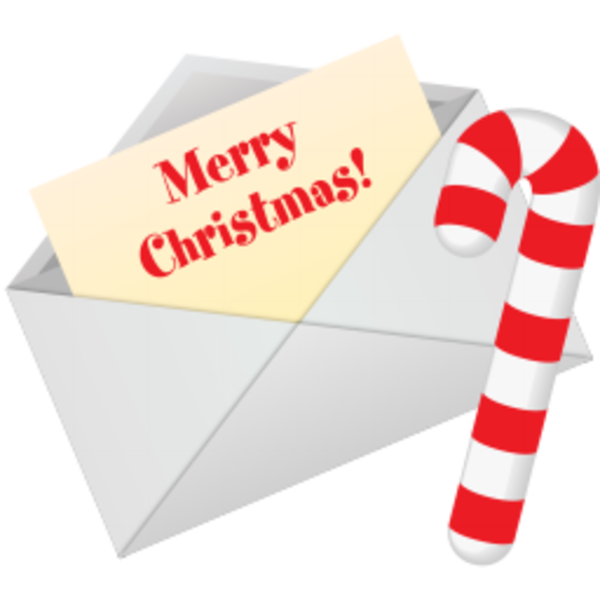 600x600 Christmas Letter Clipart Free