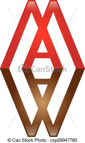 278x470 Double M Amp A Letter Logo. Logo Template.