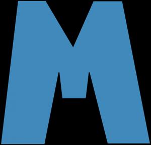 300x289 Blue Letter M Blue Alphabet Letter M Clip Art Blue Alphabet Letter