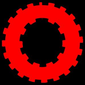298x297 Uppercase O Clip Art