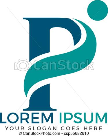 373x470 Letter P Adoption And Community Care Logo Design. Initial Letter P