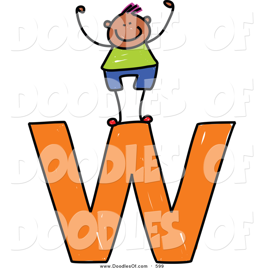 1024x1044 Vector Clipart Of Doodled Happy Black Boy Cheering On