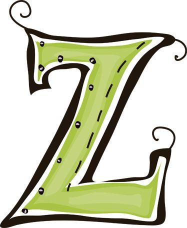 Letter Z Clipart