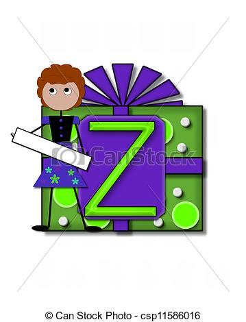 359x470 Alphabet All Occasion Z. The Letter Z, In The Alphabet Set