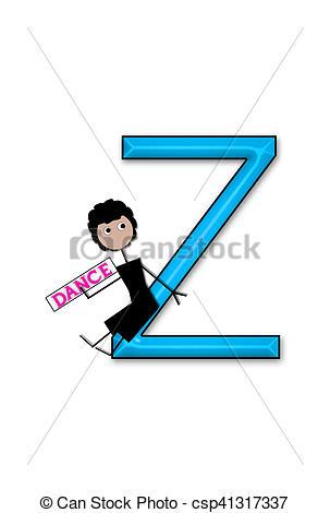 303x470 Alphabet Dance Kids Z. The Letter Z, In The Alphabet Set