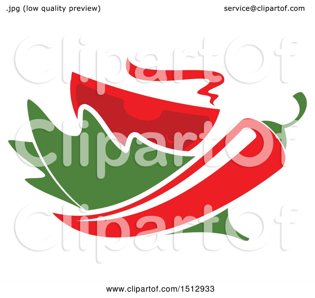 1080x1024 Clipart Of A Mexican Chile Pepper, Lettuce And Tomato Design