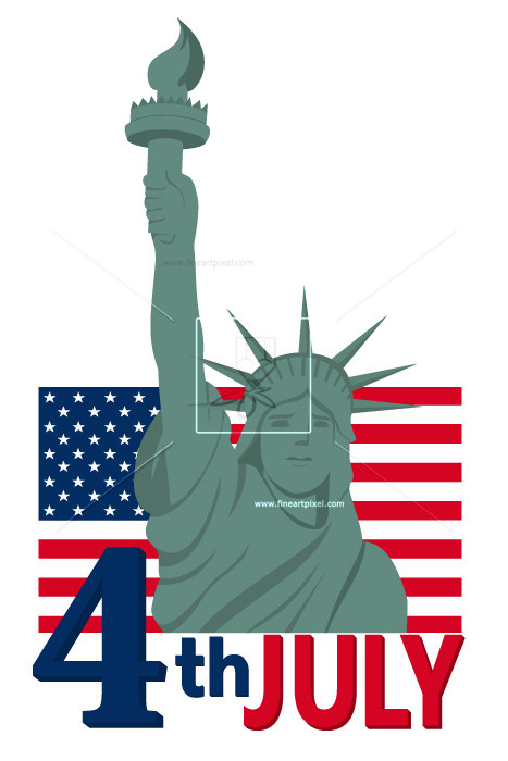 467x700 4th Of July Statue Of Liberty Free Vectors, Illustrations