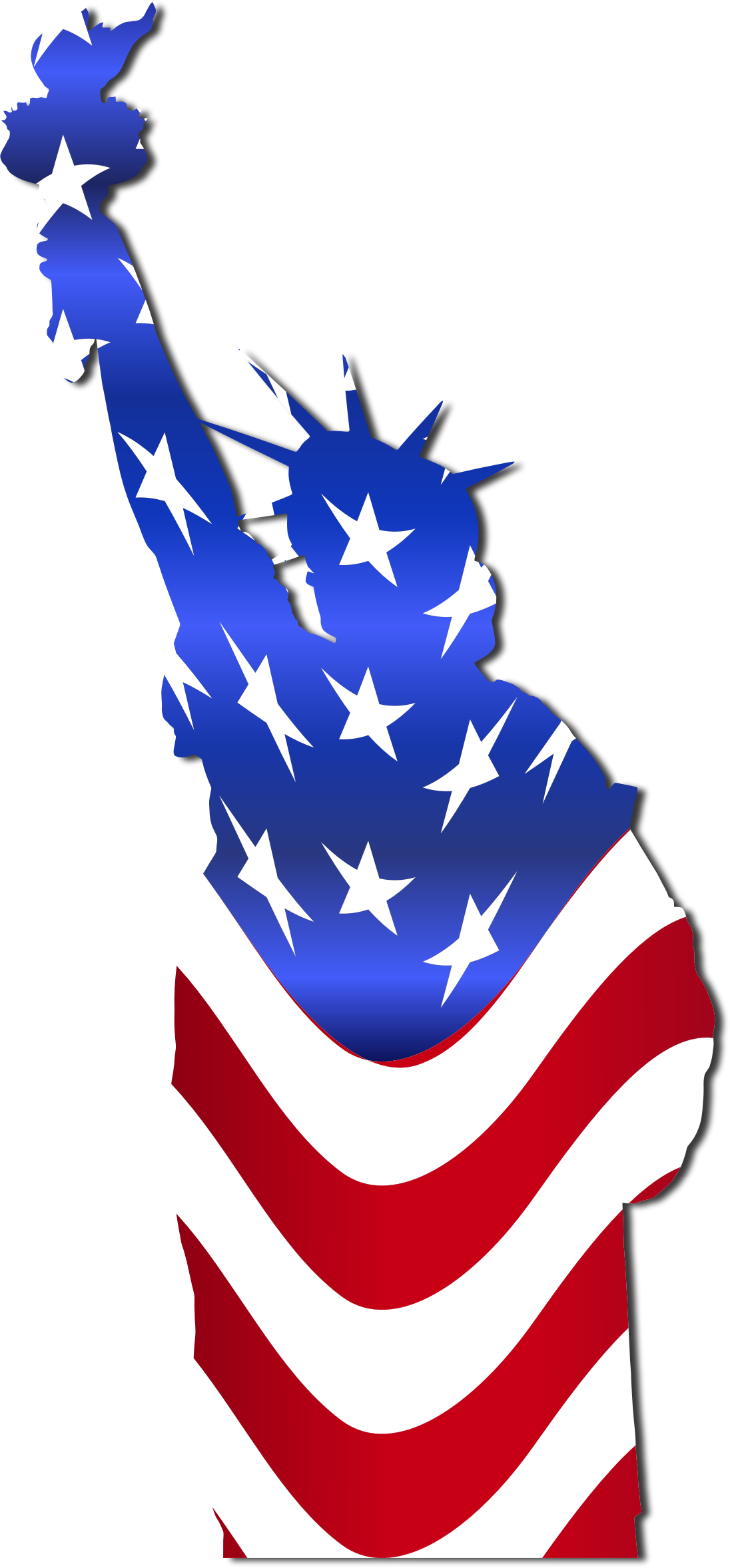 1096x2356 Statue Of Liberty Clipart Transparent