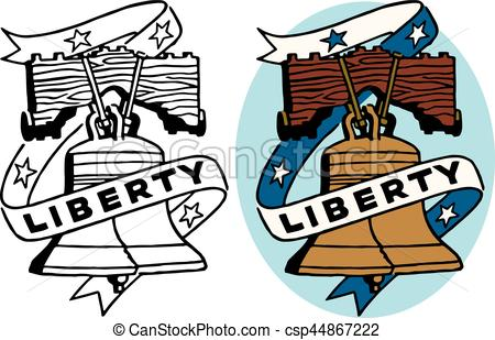 450x309 A Symbol Of American Freedom The Liberty Bell Vector Illustration