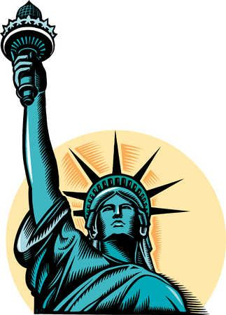 323x450 Drawn Statue Of Liberty Clip Art