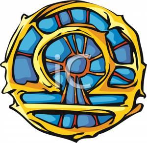 300x293 Golden Libra Symbol