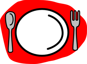 297x219 Fork Clipart Plate