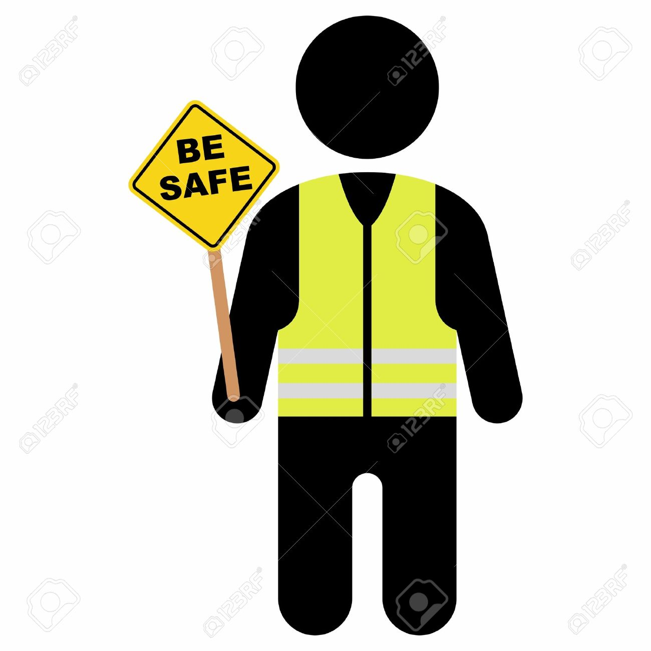 1300x1300 Safety Jacket Clipart