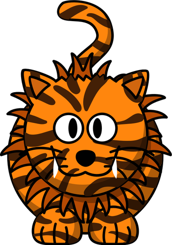 351x500 Cartoon Liger Public Domain Vectors