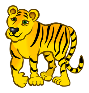 288x300 84 Tiger Clip Art Vector Public Domain Vectors